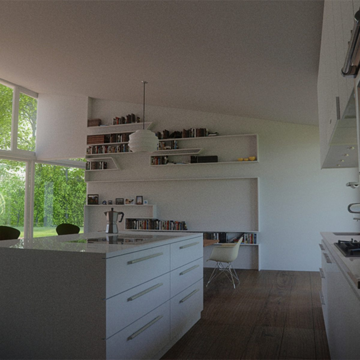 Interior View of Houses