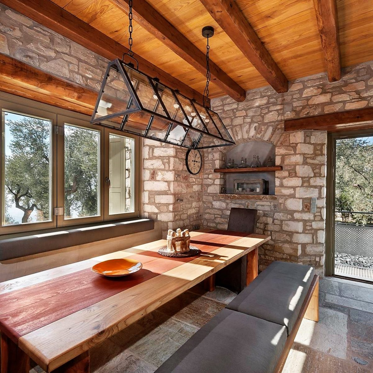Stone – Wooden Prefabricated Houses
